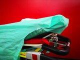 Wegwerp laken set met kussen easy kit_