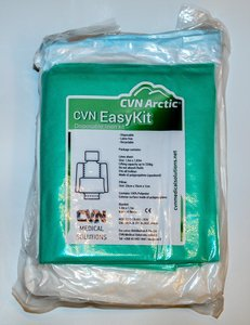 Wegwerp laken set met kussen easy kit