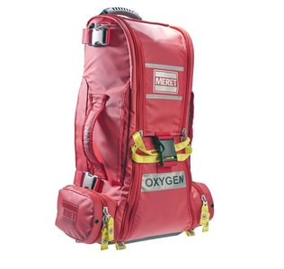O2 Response bag PRO extended Height infectie preventie Rood